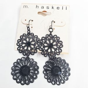 3/$30 M. Haskell Disney Theme Park Metal Earrings